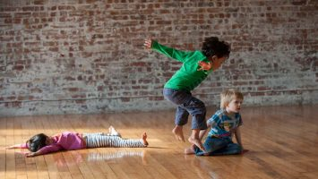 Leaps & Strides 1 | Ages 3-4 | Saturdays, 10.30 - 11.10am