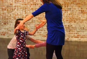 Contemporary dance workshop with Amy