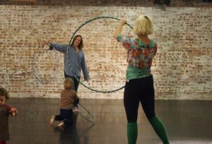 Hula Hooping workshop with Holly