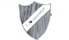 A shield with I Love Chisenhale written across it